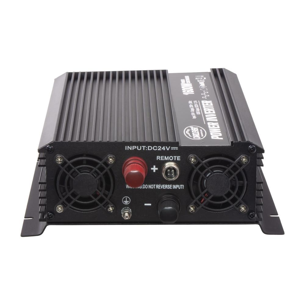 Měnič napětí z 24/230V + USB, 1600W 351624
