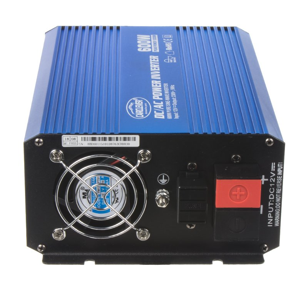 Sinusový měnič napětí z 12/230 V, 600 W 35psw612