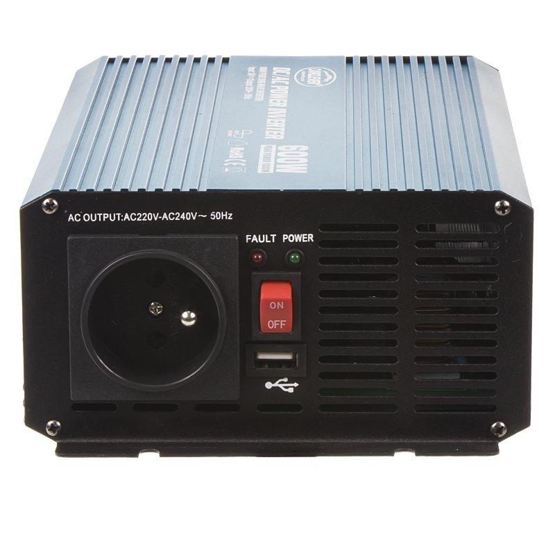 Sinusový měnič napětí z 24/230V, 600W 35psw624