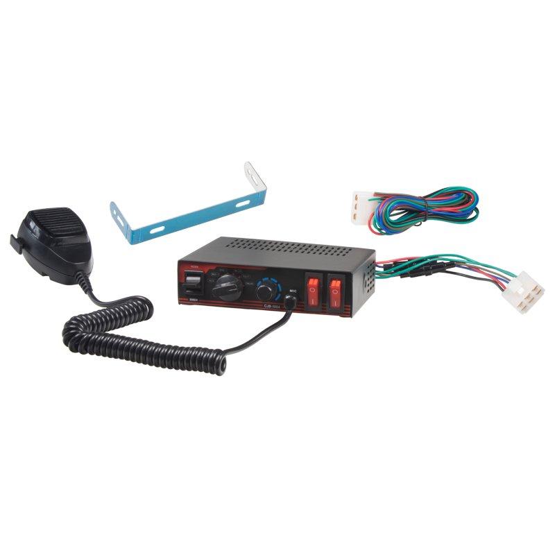 Profesionální výstražný systém s mikrofonem 100 W, sedm zvuků SN100Ws2