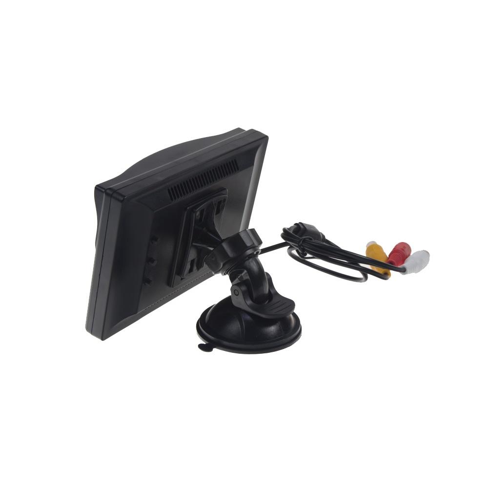 LCD monitor 5 černý s přísavkou s možností instalace na HR držák 80062