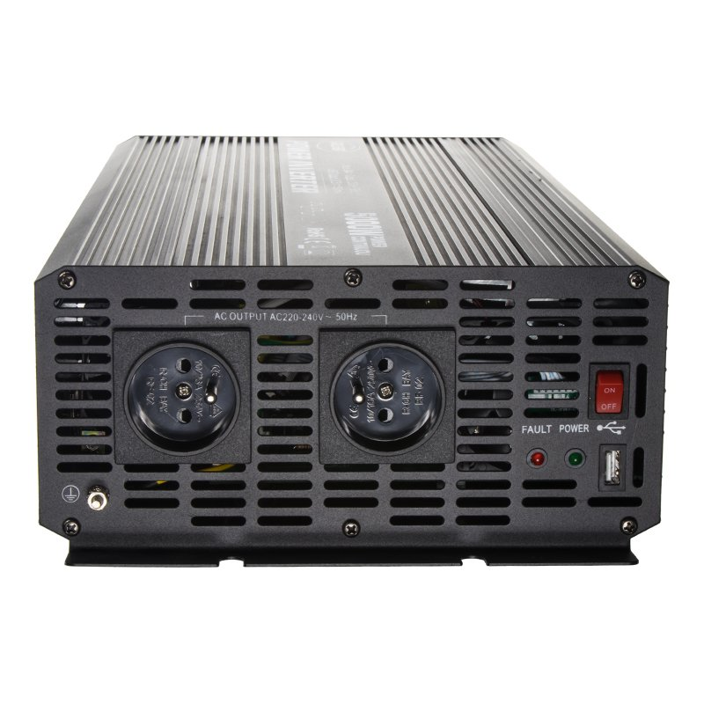 Měnič napětí z 24/230V + USB, 5000W 355024
