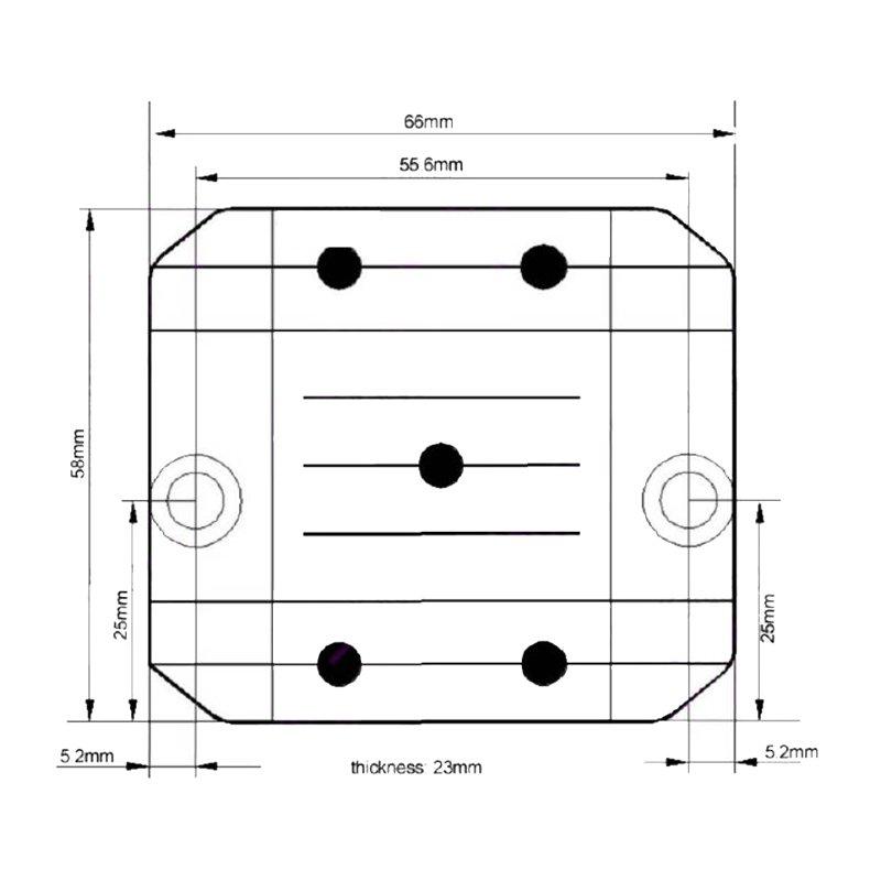 Lineární měnič napětí 24/12, 5A 34105