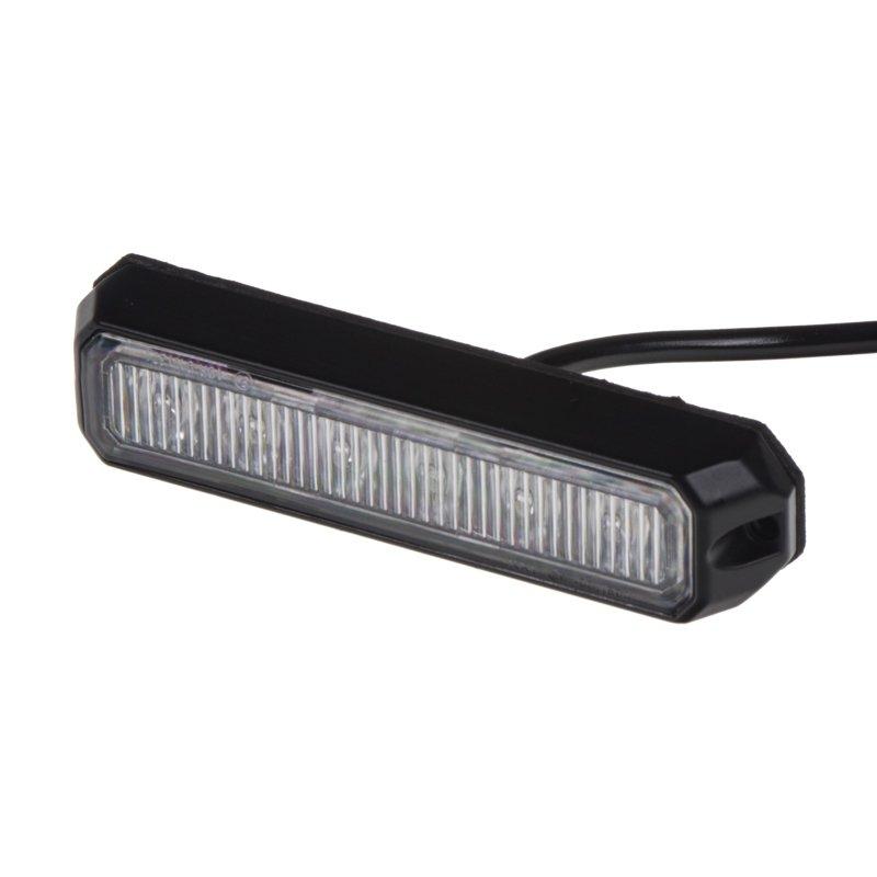 PREDATOR 6x3W LED, 12-24V, modrý, ECE R10 R65 kf006E3Wblu