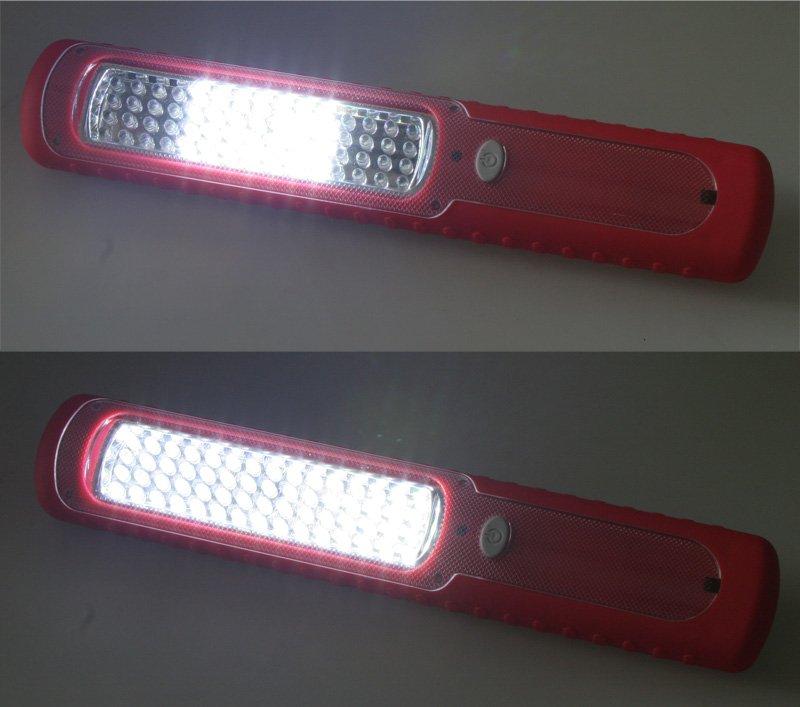 AKU LED svítilna 60LED pracovní i rekreační lampa dynamem a s magnetem + DÁREK ZDARMA