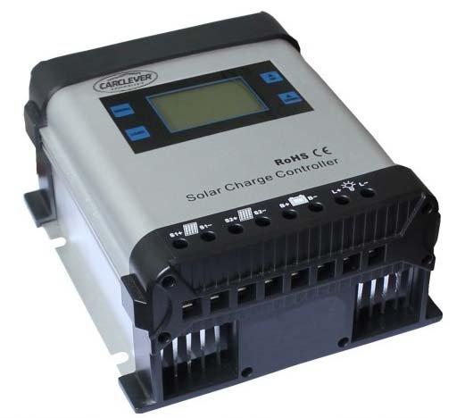 Inteligentní MPPT solární regulátor nabíjení, 20A s LCD 34402