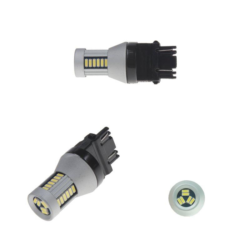 LED T20 (3157) bílá, 12-24V, 30LED/4014SMD 2 ks