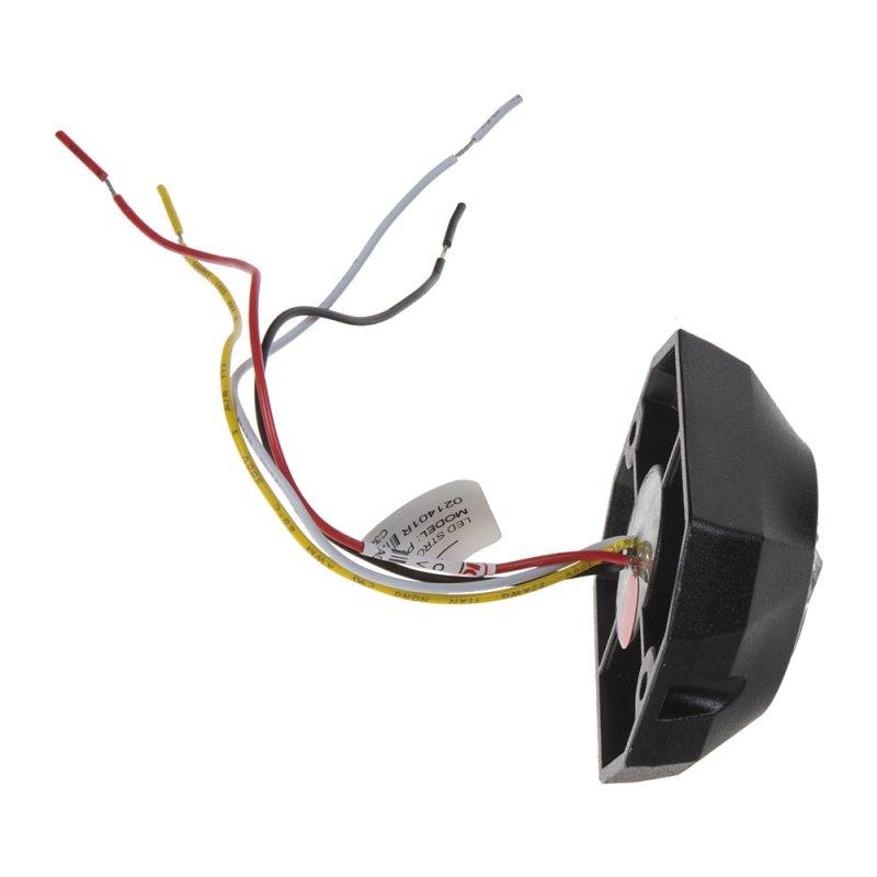 PROFI výstražné LED světlo vnější, 12-24V, červené 911-P3red