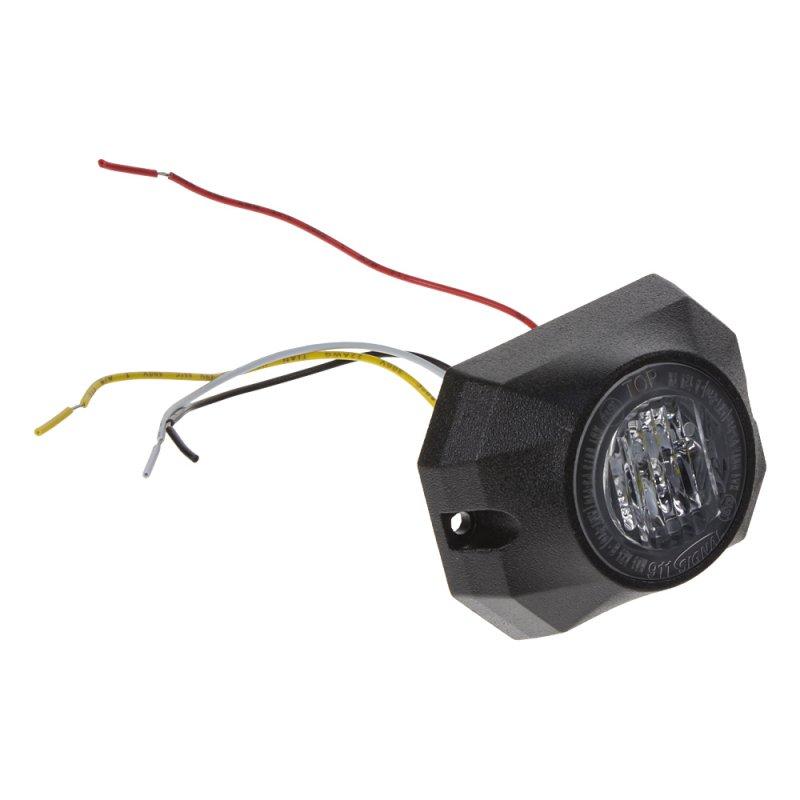 PROFI výstražné LED světlo vnější, 12-24V, bílé 911-P3wht