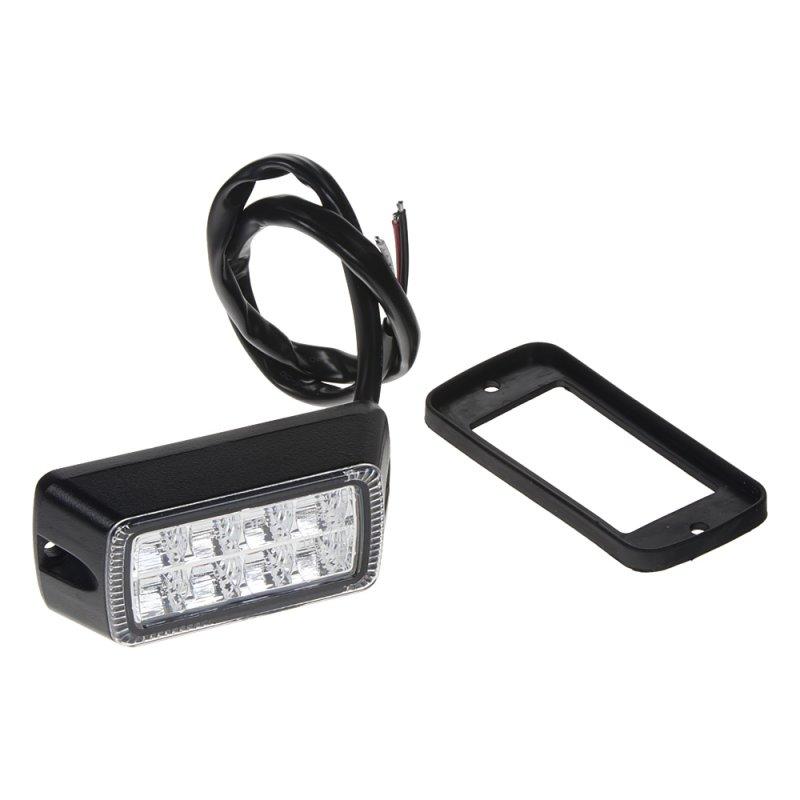 PROFI výstražné LED světlo oranžové, vnější, 12-24V, 24W, ECE R65