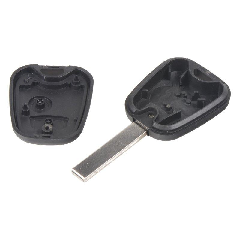 Náhradní obal klíče pro Peugeot, 2-tlačítkový, planžeta klíče VA2
