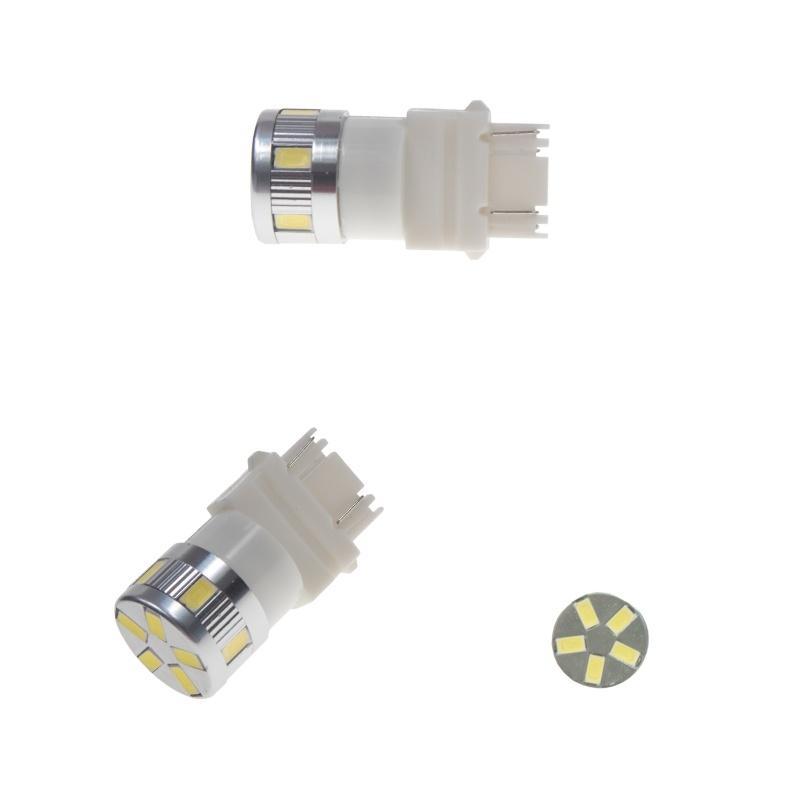 LED T20 (3157) bílá, 12-24V, 11LED/5730SMD 2 ks
