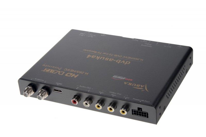 DVB-T2/HEVC/H.265 digitální tuner Asuka s nahráváním a USB