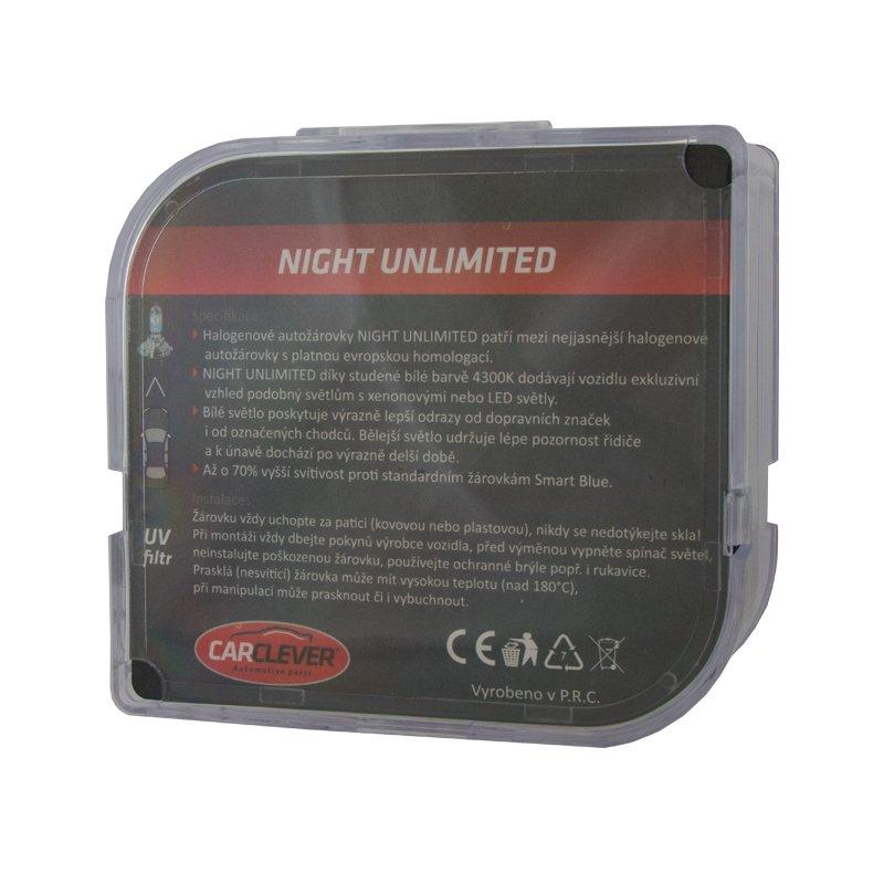 Halogen. žárovka 12V s paticí H7, Night unlimited 4300K (2ks) 912H7NU