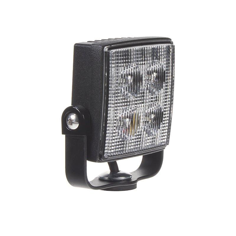 Výstražné LED světlo vnější, modré, 12/24V, R65