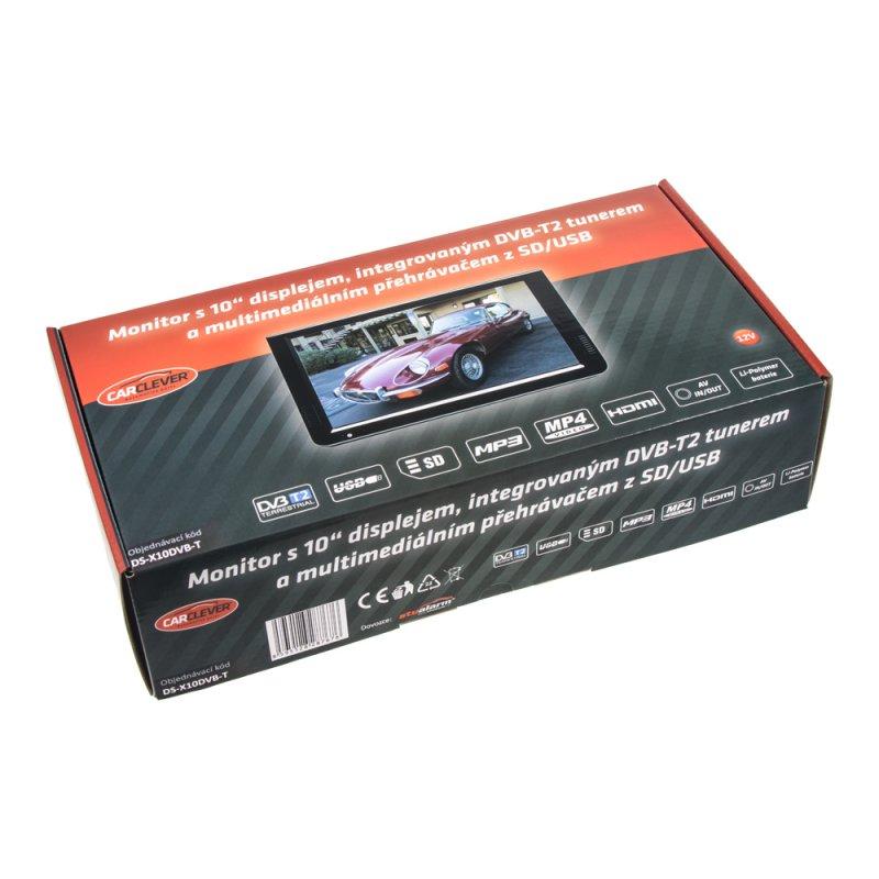 LCD monitor 10 s DVB-T2/SD/USB/HDMI/české menu ds-x10dvb-t