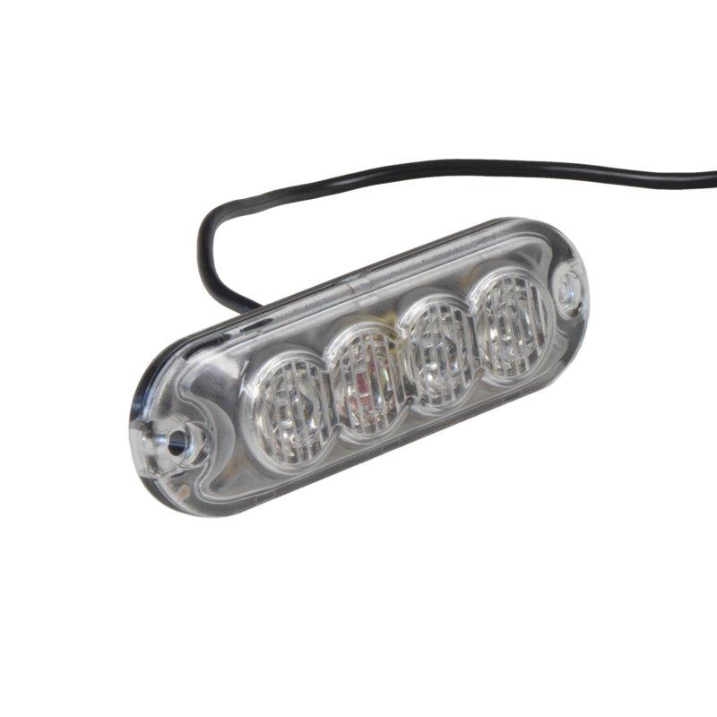 PREDATOR 4x3W LED, 12-24V, oranžový, ECE R10 R65 kf004Z