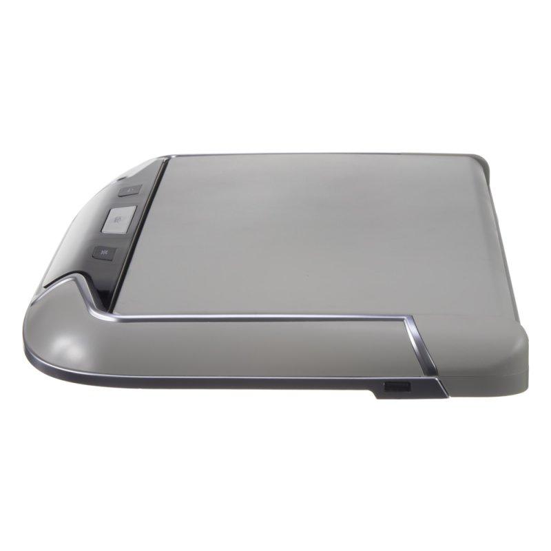 Stropní LCD monitor 13,3 šedý s OS. Android HDMI / USB, dálkové ovládání se snímačem pohybu ds-133Agr