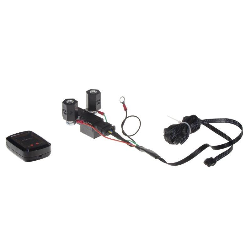 Automatické relé pro dobíjení druhé baterie 12V/250A + voltmetr NOVINKA