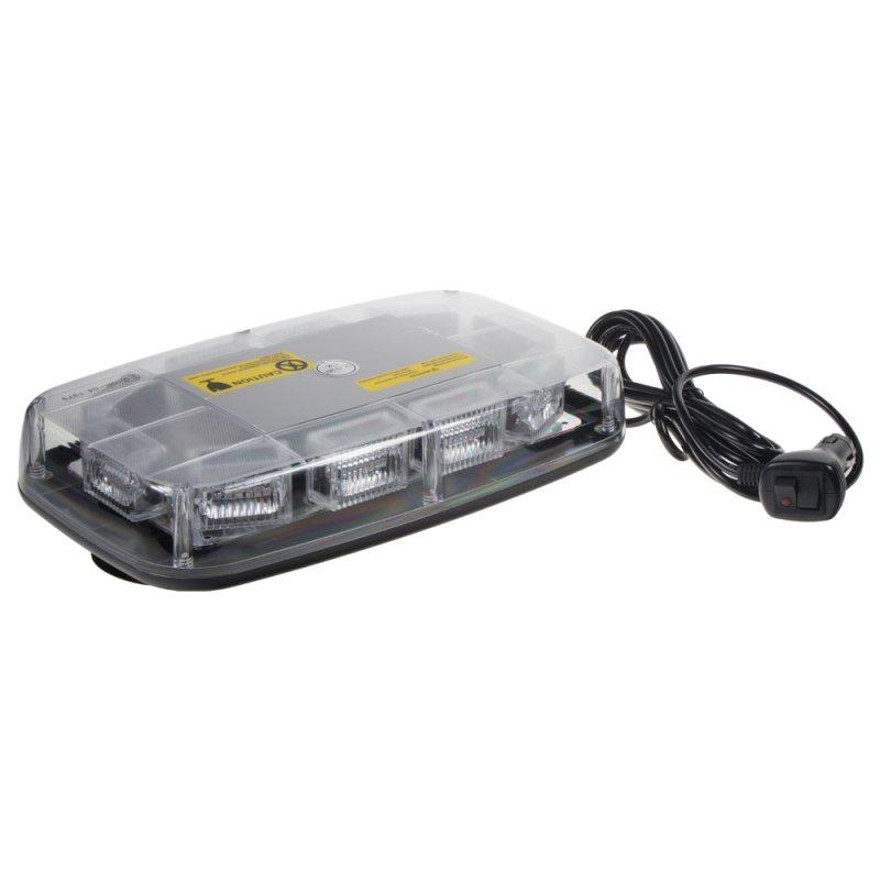 Rampa oranžová, 30LEDx3W, magnet, 12-24V, 280mm, ECE R10/R65 kf16m NOVINKA