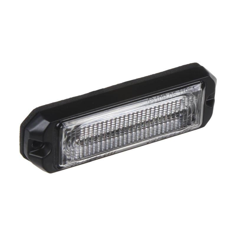 SLIM výstražné LED světlo vnější, oranžové, 12-24V, ECE R65 kf004EM5W
