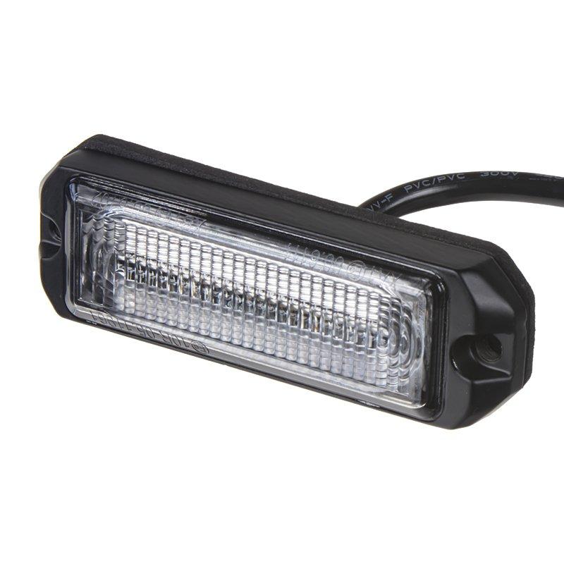 SLIM výstražné LED světlo vnější, červené, 12-24V, ECE R65 kf004EM5Wred