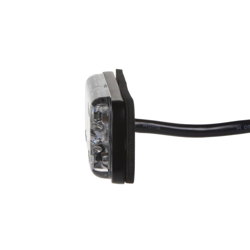 LINEAR LED 6x5W LED, 12-24V, červený, ECE R65 kf703red
