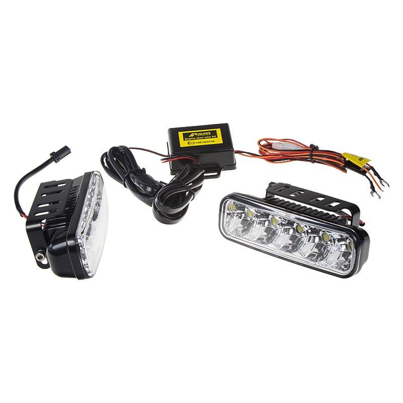 LED světla pro denní svícení, 147x45mm, ECE (SJ-286E)