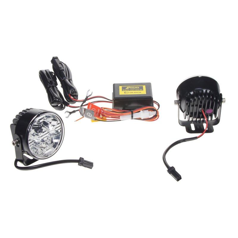 LED světla pro denní svícení, kulatá 70mm, ECE (sj-288)