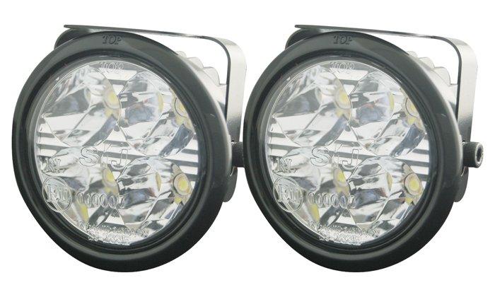 Redukční kroužek pro světla sj-288 černý 5 mm sj-288e/5black