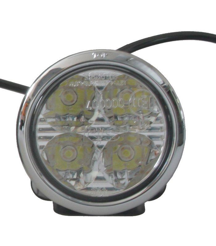 Redukční kroužek pro světla sj-288 chromový 5 mm sj-288e/5chrom