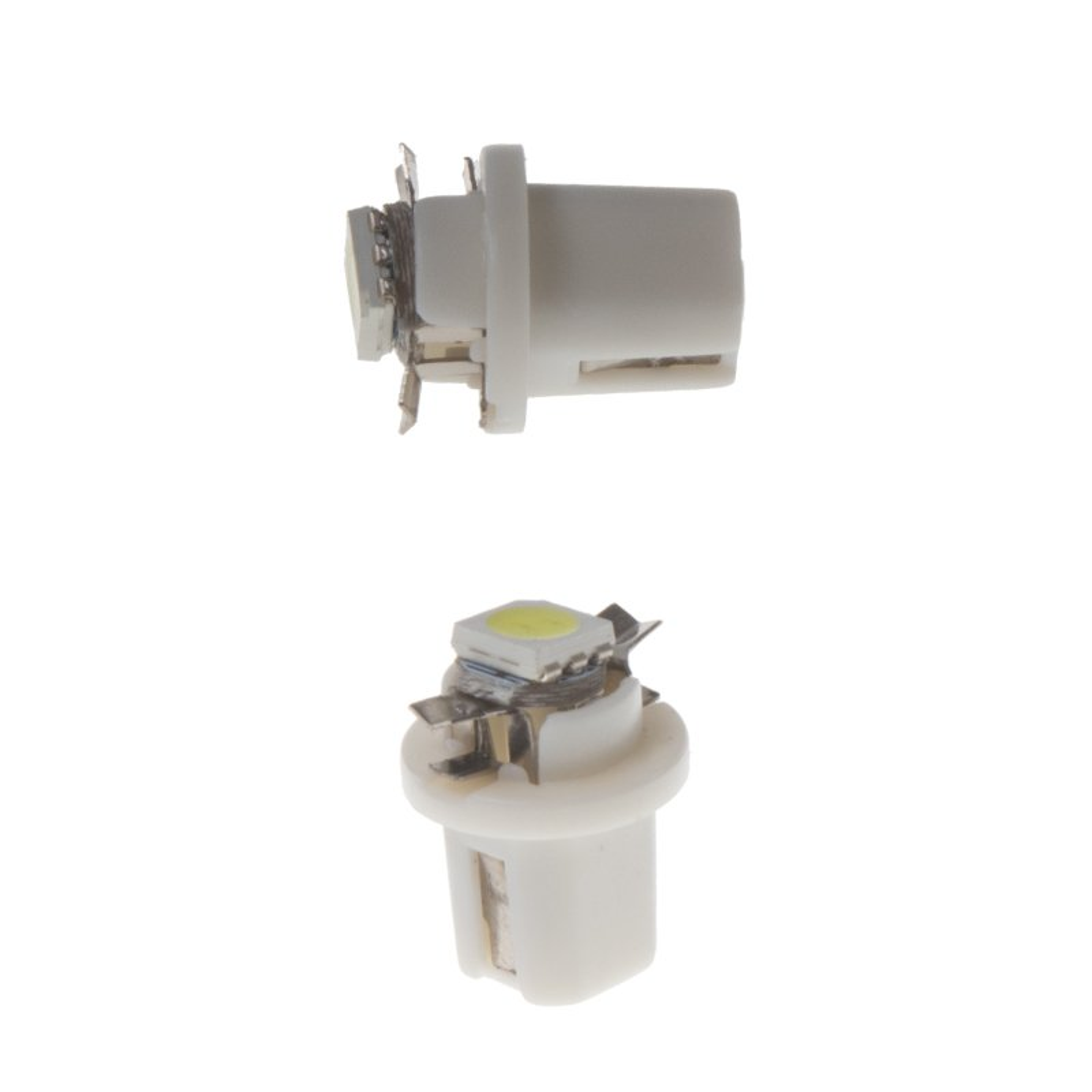 Mini LED B8,5 bílá/3SMD 2 ks