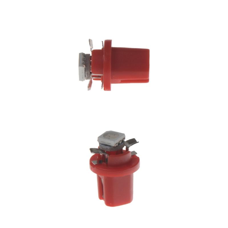 Mini LED B8,5 červená/3SMD 2 ks