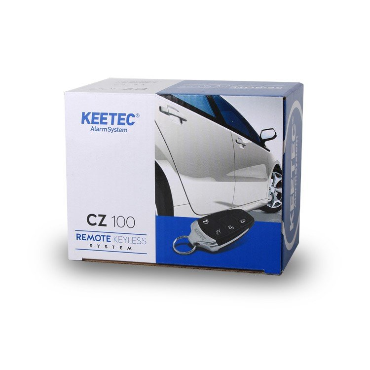 Dálkové ovládaní KEETEC CZ 100 LINE